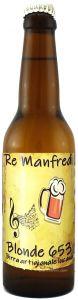 Birra Artigianale Blonde Apa 653 Alta Fermentazione Re Manfredi