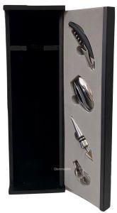 Cassetta Nera porta Magnum con accessori vuota