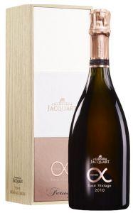 Champagne Riserve Cuvèe Alpha Rosé Millesime 2010 Jacquart