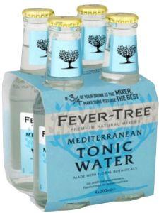 4 Bottiglie Tonic Water Mediterranean Fever-Tree
