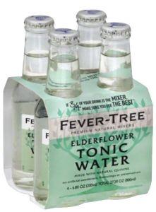 4 Bottiglie Elderflower Tonic Water Fever-Tree