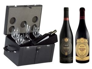 Bauletto Pelle Decanter Amarone Masi