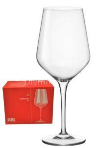 6 Bicchieri Cristallino Sonoro Superiore Harmony 53 Vino Rosso Rastal
