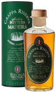 Grappa Riserva Madeira Sibona
