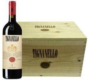 Cassa Legno 6 Bottiglie Tignanello 2014 Tenuta Tignanello