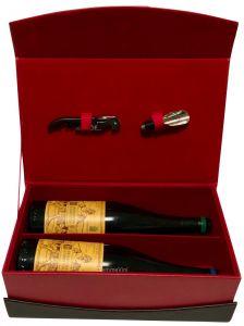 Cassetta Abruzzo con 2 Bottiglie Vino Valentini