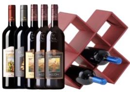 Cantinetta Banfi + 5 Bottiglie Miste Soli € 110,00