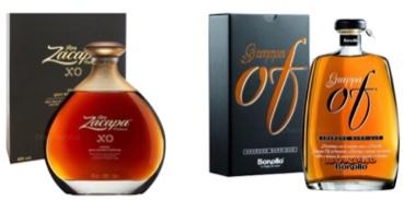 2 Bottiglie con Astuccio Rum e Grappa a Soli € 125,00