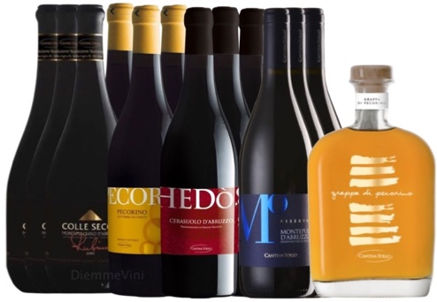Degustazione 13 Bottiglie Cantina Tollo a Soli € 110,00
