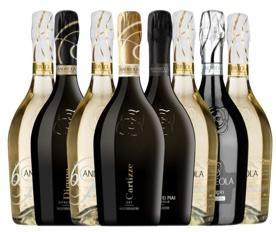 Andreola Bollicine d'Autore 8 Bottiglie a Soli € 80,00